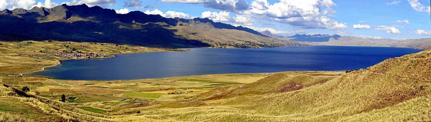 Die Lagune Langui Layo