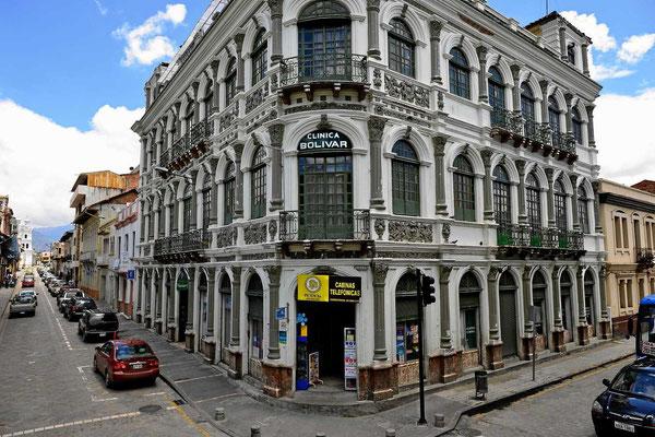 Eindrücke von Cuenca, vom Bus aus gesehen.