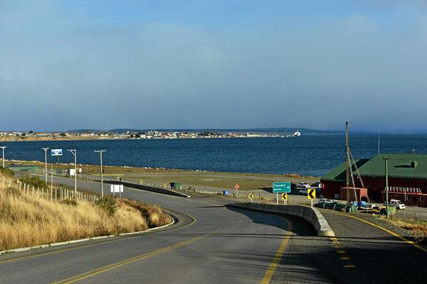 Blick auf Puerto Natales.