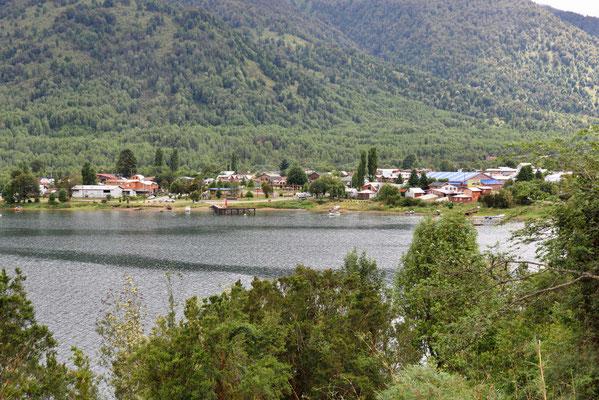Blick auf Puyuhuapi.