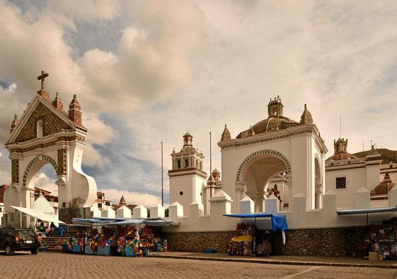 Die Kirche von Copacabana, wegen dieser Kirche haben die Leute aus Rio de Janeiro ihren Strand benannt.