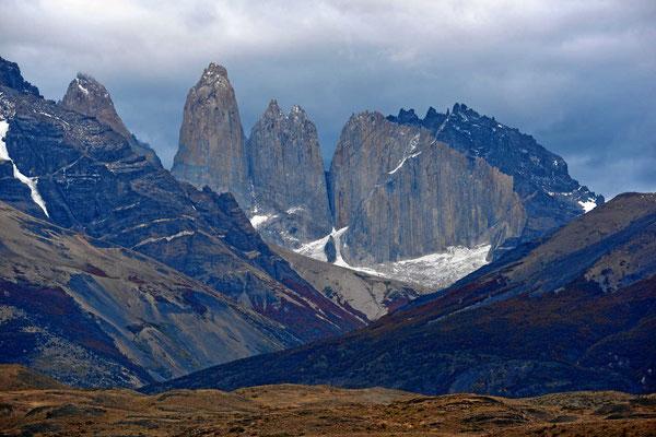 So sehen die Torres etwas später aus, das Wetter wird schlecht.