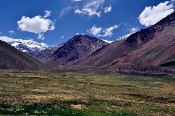 Wanderung durch den Parque Provincial Acongagua.