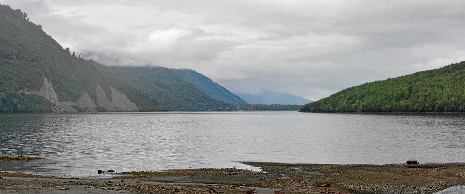 Der Fjord von Puyuhuapi.