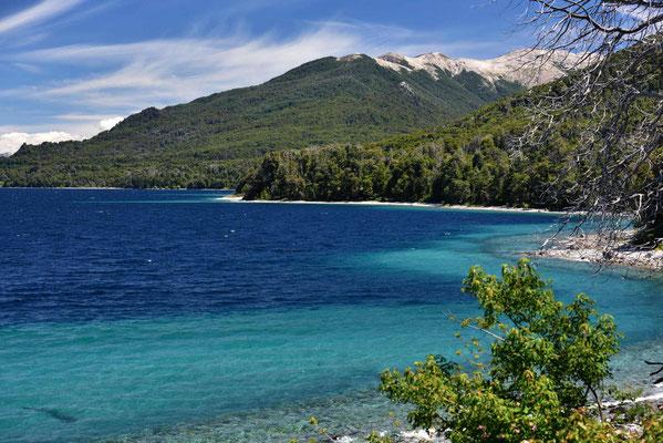 Südseestimmung am Lago  Nahuel Huapi.