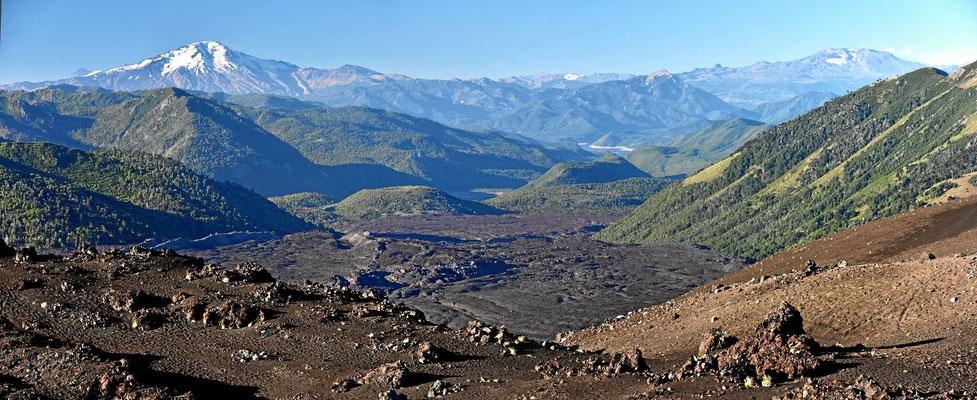 13 Wochen hat der Weihnachtskrater gespuckt und dabei einen Riesen-Lavafluss erzeugt.