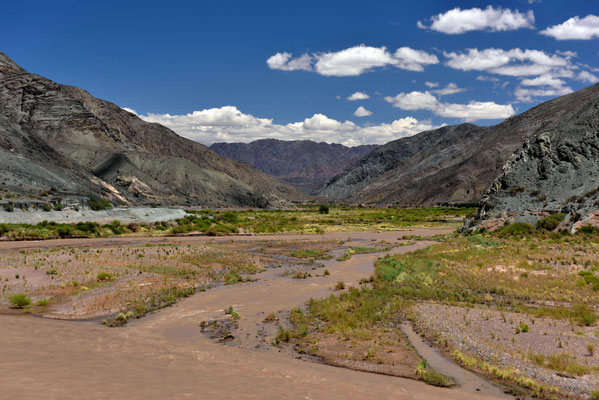 Das Flusstal des Rio San Juan.