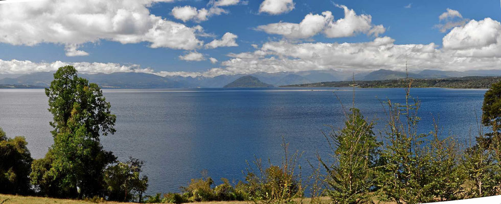 Der See Rupanco, Zutritt für Fremde verboten.