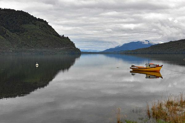 Der Fjord bei Puyuhuapi.