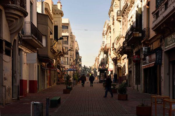 Bummel durch die Straßen von Montevideo.