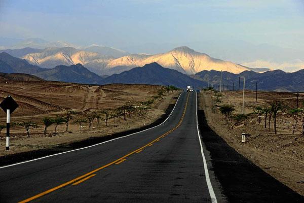 Auf dem Weg nach Nazca.