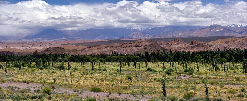 Das Tal des Rio de los Patos ist deutlich breiter.