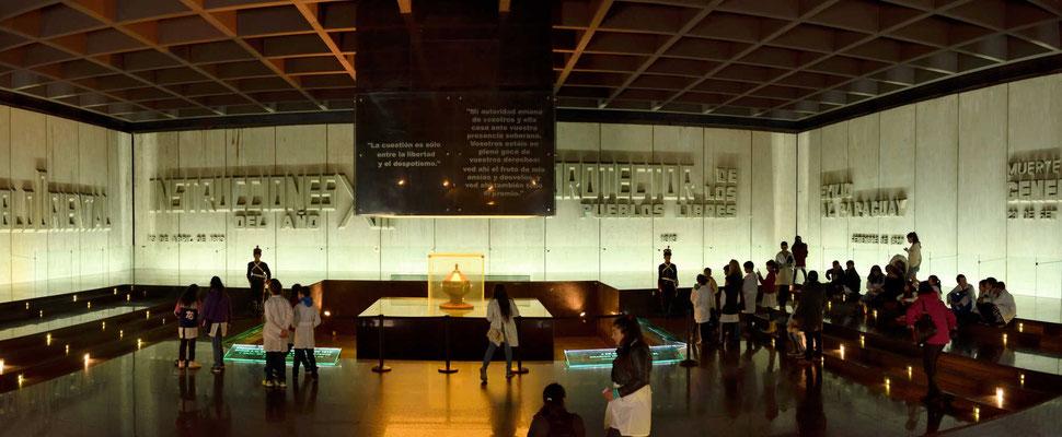 Das Mausoleum aus der Zeit der Militärdiktatur, ein Muss für Fans des Totenreichs.