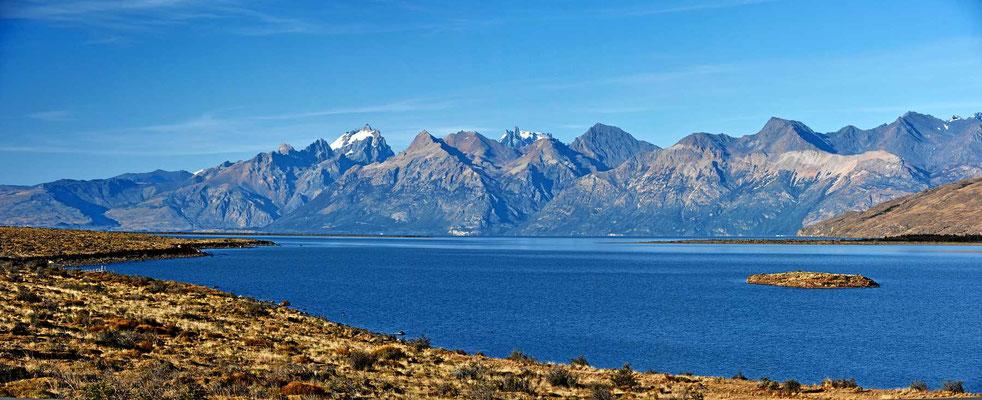 Wunderschöner Lago Viedma.