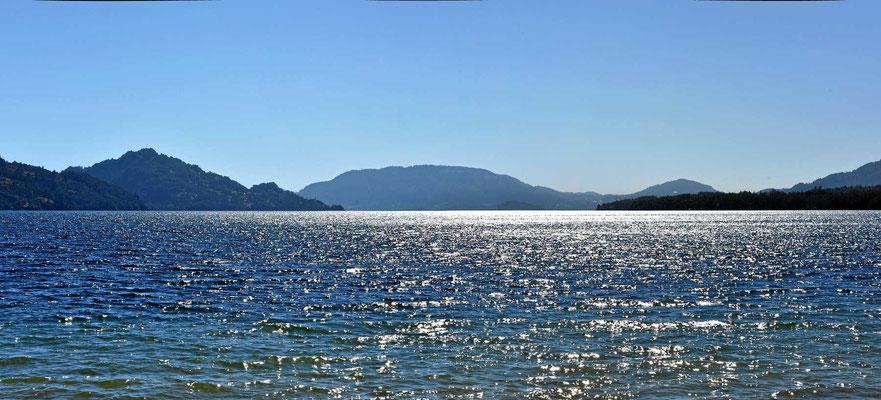 Und immer wieder lockt der See Calafquen.