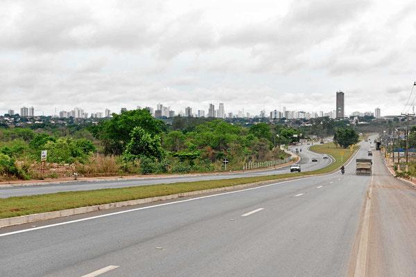 Die Skyline von Cuiaba.