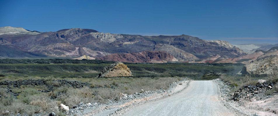 Vulkanlandschaft im Payun-Gebiet.