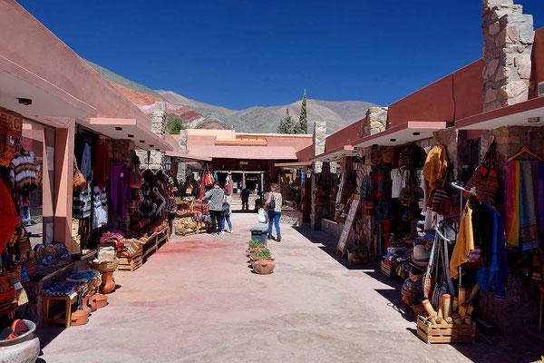 Anscheinend lebt jeder in Pumamarca vom Tourismus.