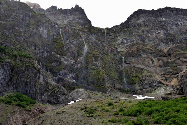 Der Endkessel des Endkessel am Cerro Tronador.