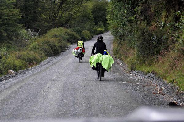 Als wir vor 10 Jahren hier geradelt sind, haben wir auf der ganzen Strecke vielleicht 20 Radfahrer getroffen, heute trifft man das an einem Tag.