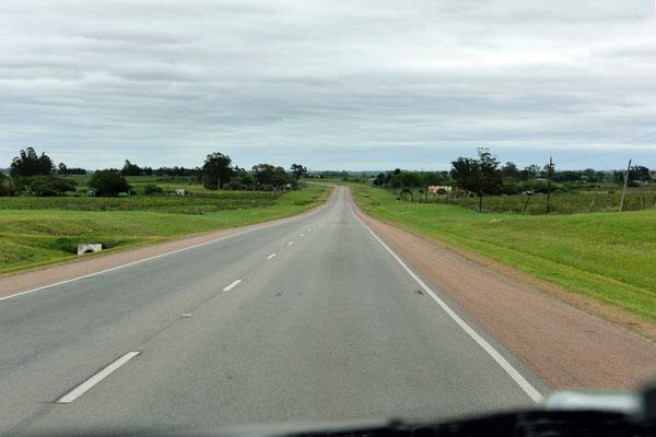 Plattes Bauernland, so sieht es in weiten Teilen von Südamerika aus.