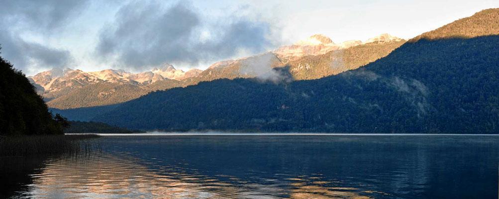 Der See Las Torres, unser Übernachtungplatz.