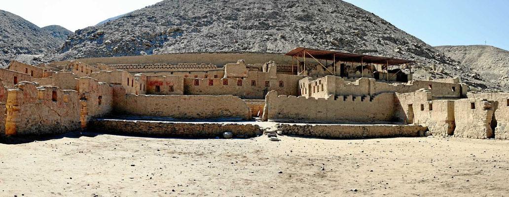 Der Inka-Palast von Tambo Colorado.