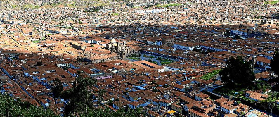 Die Altstadt von Cusco