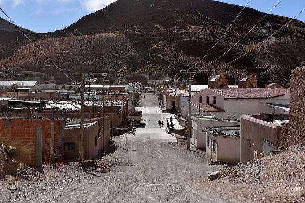 Das Indiodorf San Antonio de los Cobres