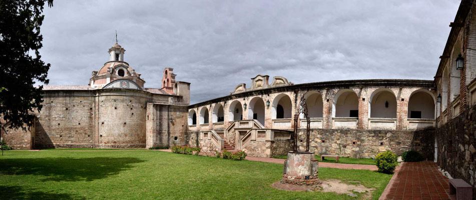 Der Innenhof der Estancia.