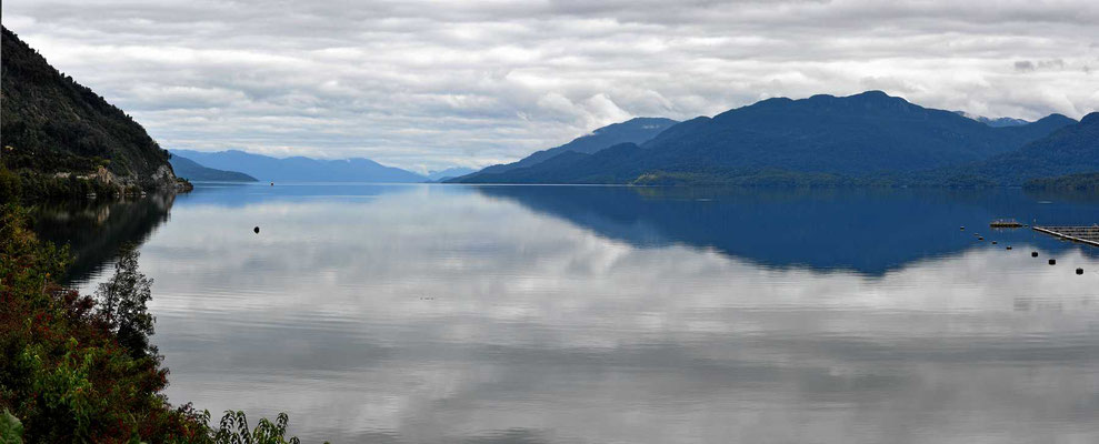 Der Fjord ist einfach wunderschön.