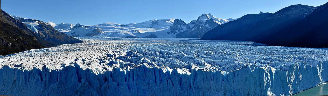 Der Perito Moreno Gletscher.