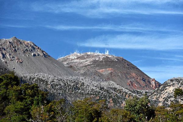 Der Vulkan Chaiten ist 2008 ausgebrochen und dampft immer noch.