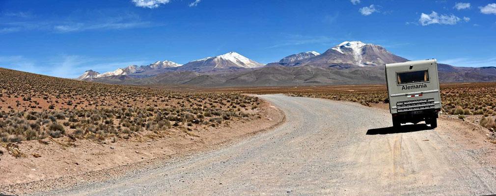 Straße der Vulkane