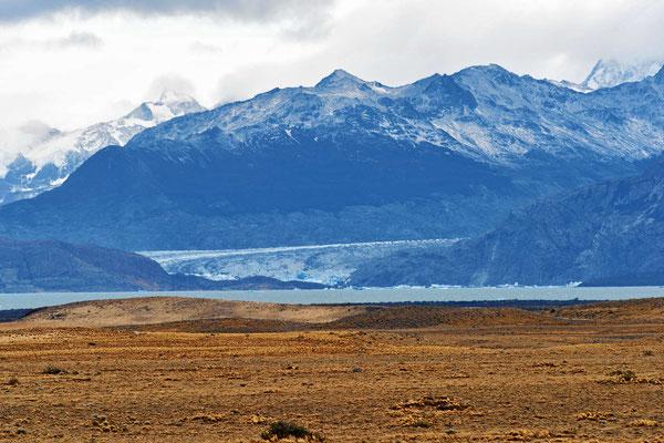Blick auf den Gletscher Viedma.