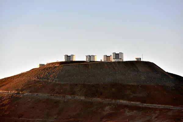 Das ESO-Observatorium in Paranal, das größte Observatorium der Welt.