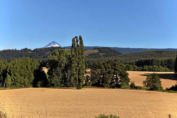 Eine Landschaft wie z.B. Frankreich, wenn da nicht der Vulkan wäre.