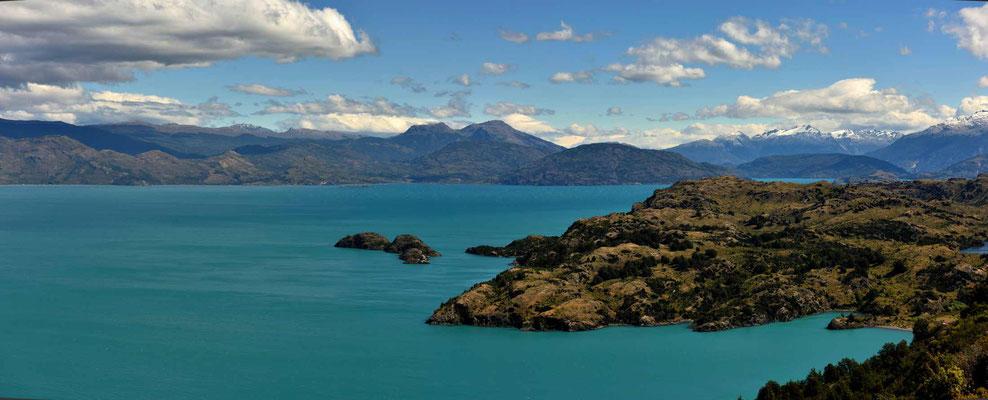 Der Lago General Carrera.