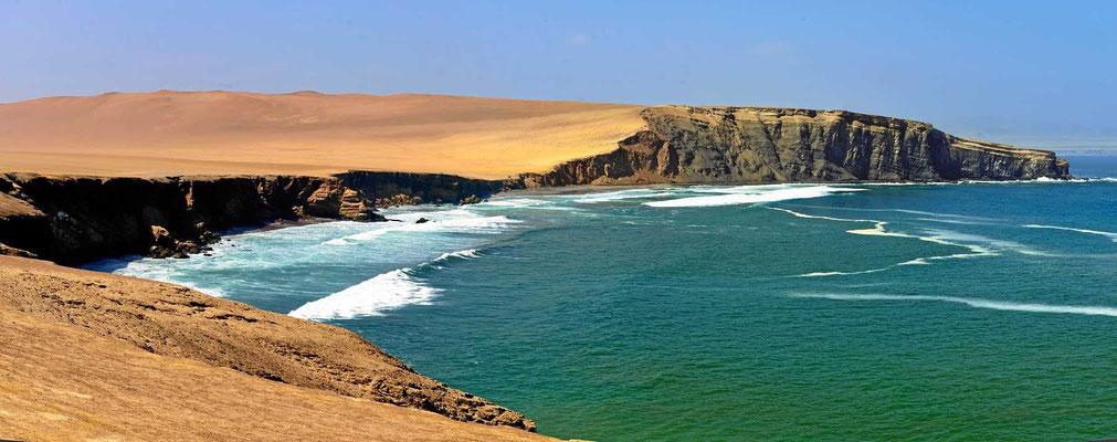 Die Reserva hat wundervolle Steilküsten.