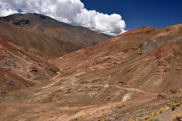 Hinunter ins Valles Calchaquies.