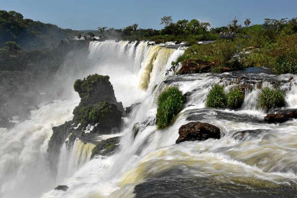 Iguazu-Fälle - argentinische Seite.