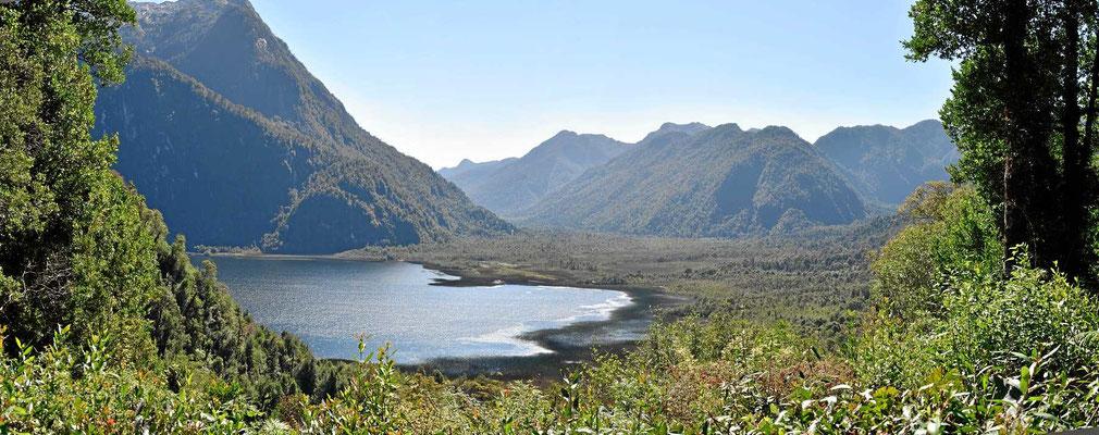 Ein anderer Blick auf den Lago Negro.