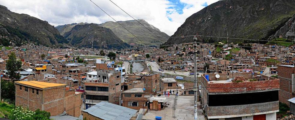 Die Stadt Huancaveli.