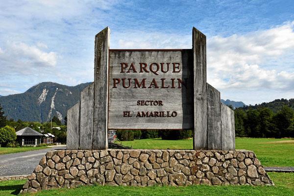 Der Eintritt zum Amarillosektor.