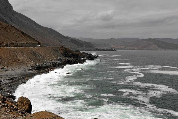 Steilküste bei Taltal.