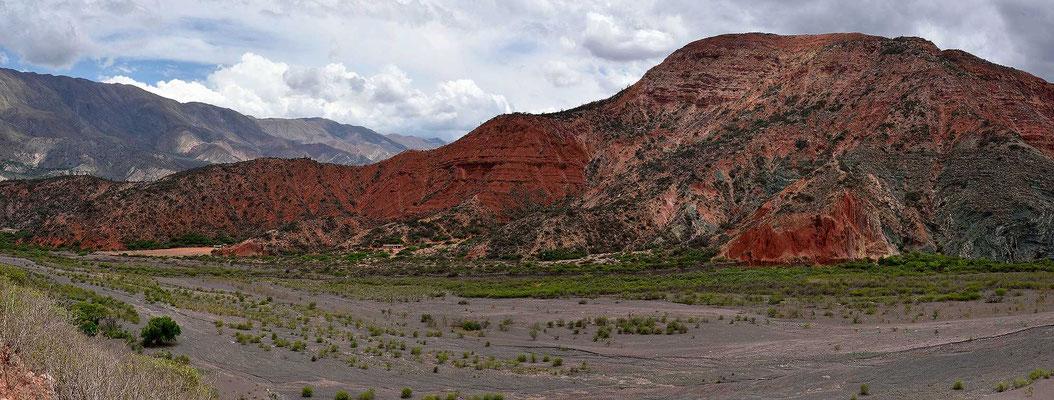 Es ist eine farbige Landschaft.