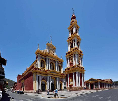 Die Iglesia San Francisco, frisch renoviert.