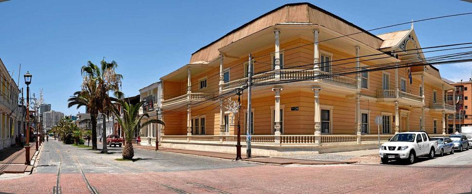 Das Haus eines Salpeterbarons aus dem Anfang des 19. Jhdts.