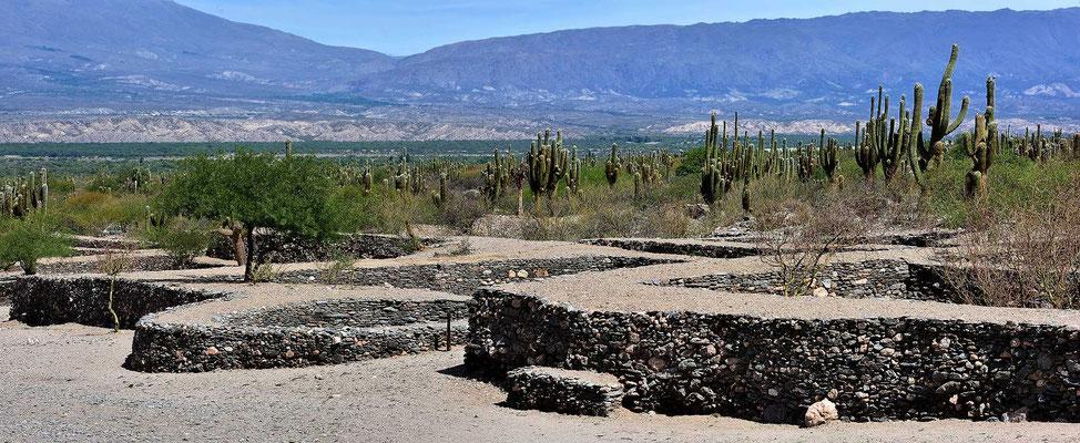 Die Ruinenanlage von Quilmes.