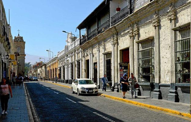Altstadtstraße in Arequipa
